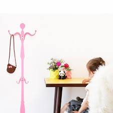 Pink Coat Rack Pink Coat Rack Wall Decal Wall Decal Hangers Wall Decals Animi 47