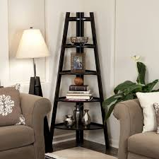 the corner design bookcase is meant of course to stand in corners with image ladder bookshelf simple furniture43 design