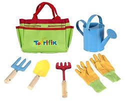 childrens gardening tools. Childrens Gardening Little Gardener Tool Set With Garden Tools Bag For Kids Kit Includes Watering .