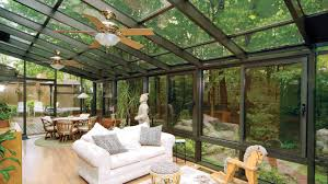 image of how to build a porch roof sunroom