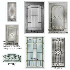 Front Door Glass Insert - Exterior door glass insert replacement