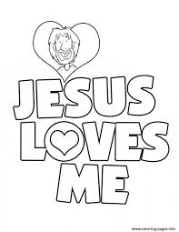 Small Picture Jesus Loves Me Coloring Pages Printable