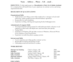 Examples Of An Objective For A Resume Resume Template Shockingles Of Resumes Objectives Objective 57