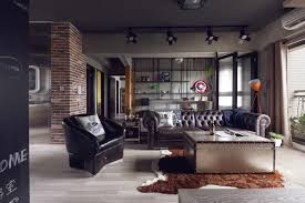 industrial living room furniture. Living Room:Livingroom Rustic Industrial Room Ideas Furniture With Extraordinary Gallery Style 45+
