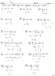 linear literal equations
