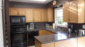 kitchen wall colors with oak cabinets. Fascinating Elegant Kitchen Wall Colors With Honey Oak Cabinets On Best B