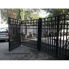 bi folding gate gates wooden hinges