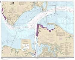 James River Depth Chart 12245 Hampton Roads Nautical Chart