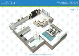 Home Design   Astonishing Studio Apartments Floor Planss - Studio apartment floor plans 3d
