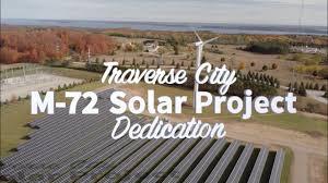 Traverse City Light Power Traverse City Light Power Unveils New 1mw Solar Array
