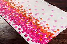 hot pink and orange area rug designs
