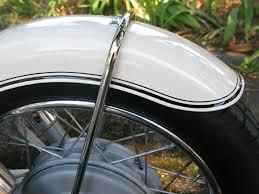 restorations brooks motor works front fender on r50 vintage bmw motorcyle