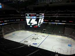 American Airlines Center Stars Seating Chart American Airlines Center Section 307 Row C Home Of Dallas