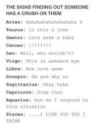 Zodiac Signs Quotes Interesting Astrology Quotes The Signs Finding Out Someone Has A Crush On Them