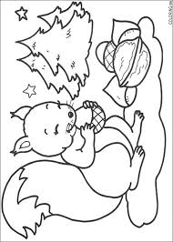 Small Picture Coloring page Christmas squirrel Coloringme