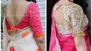 Latest Blouse Design Images Latest Saree Blouse Designs Of 2018 Designer Collection