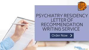 psychiatry letter of recommendation sample 2019 2020 residency