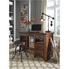 h478 29 ashley furniture woodboro brown home office desk