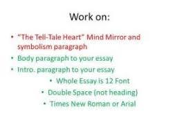 tell tale heart symbolism essay  tell tale heart symbolism essay