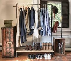 closet clothes storage clothing storage ideas no closet photos