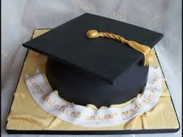 How To Make A Graduation Hat Cake Tutorial Youtube