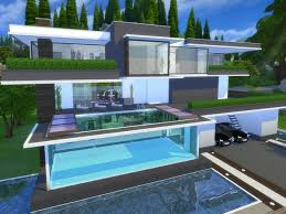 Small Picture Modern Serendia house by Suzz86 at TSR via Sims 4 Updates Simmin