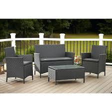 Patio Ideas Dark Wicker Patio Furniture With Lazy Boy Outdoor