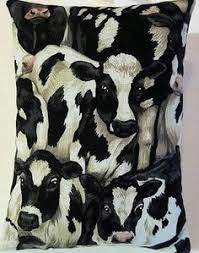 cow gift cow fabric lavender bag dairy cattle stocking filler