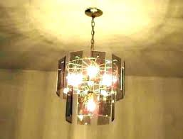 beveled glass light fixture home improvem beveled glass chandelier panels before the was b cognac brass beveled glass