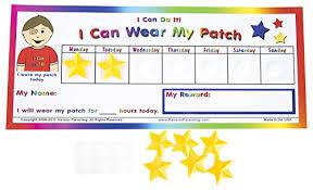 Kenson Kids I Can Do It Eye Patch Chart