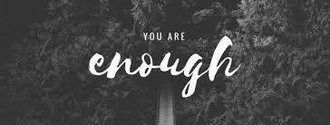 you are enough facebook cover