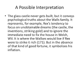 The Glass Castle Quotes Custom Jeannette Walls's The Glass Castle Ppt Download