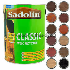 Sadolin Classic Colour Chart Sadolin Classic Woodstain Protection 13 Natural Colours
