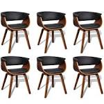 <b>Modern Artificial Leather Wood</b> Dining Chair 6 pcs Sale, Price ...