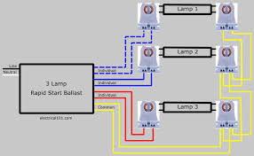 how to replace 3 lamp series ballast Dual Lite Emergency Ballast Wiring Diagram For Four Lamp Operation