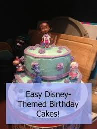 Easy Disney Themed Birthday Cakes Happy Little Homemaker