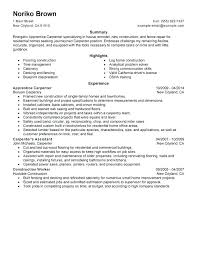 Cover Letter For Construction Worker Construction Resume Example