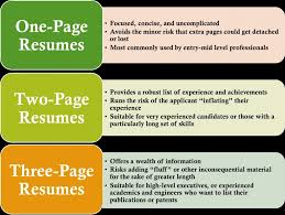 Resume One Page Or Two Resume One Page Or Two Examples And Get Inspired To Make Your With 15