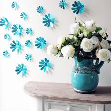 flower wall art decor large bathroom metal flowers ceramic for modern residence diy flower wall decor remodel