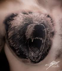 фото оскал медведя