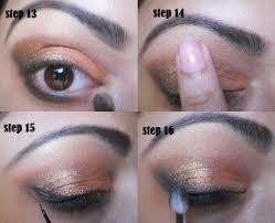 golden smokey eyes makeup tutorial eyes makeup in urdu