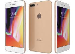 apple iphone 8 gold. apple iphone 8 plus gold 3d model iphone