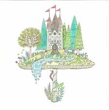Cozy Free Printable Enchanted Forest Coloring Pages Dreadeorg