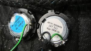 bose door speakers. 03-06 mercedes s430 s500 w220 lh rh front rear door speaker bose tweeter 1213 bose door speakers
