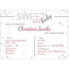 Email Invitations Simple Sweet Baby Shower Invitations Flat Cards Personalized Cards Photo