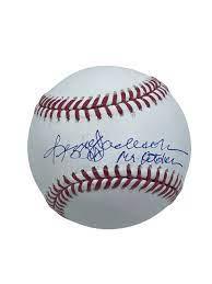 Reggie Jackson Autographed Baseball ...