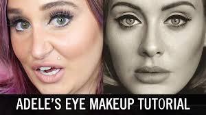 adele s eye makeup tutorial