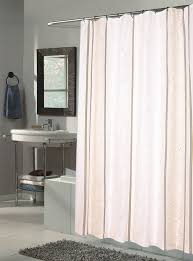 ashley extra long fabric shower curtain seze 70 wide x 84