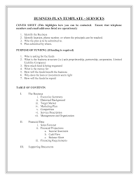 Doc Business Plan Outline Template