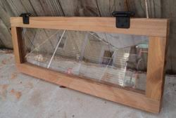 Plexiglass Windows For Deer Blinds  Hunting With The Deer Blind Plexiglass Deer Blind Windows